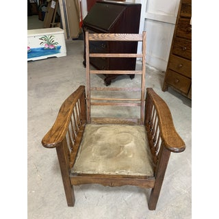 Antique Mission Oak Morris Chair Preview