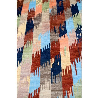 """Afghan Multi-Colored Transitional Rug-10'1'x14'1"""" Preview"""