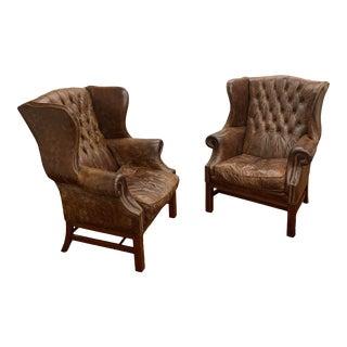 Ralph Lauren Overstuffed Chairs - a Pair For Sale
