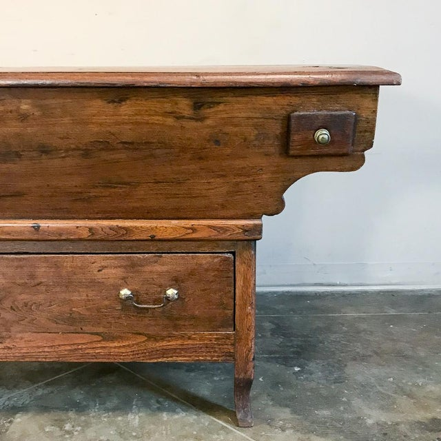 Gold 200 Year Old Directoire Period French Doughbox ~ Buffet For Sale - Image 8 of 12
