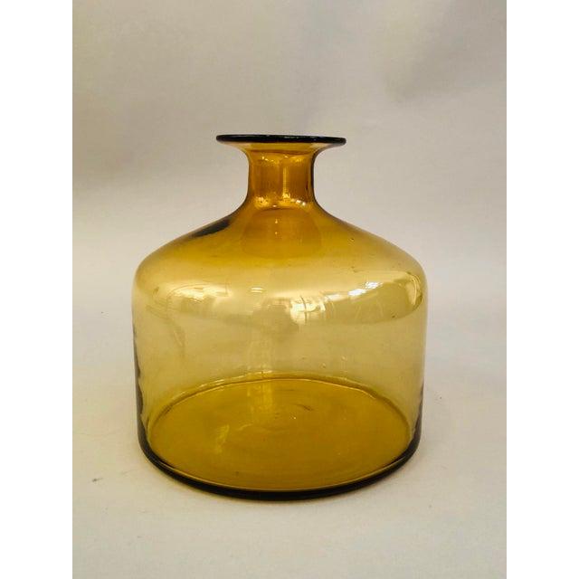Holmegaard Holmegaard Glass Vase For Sale - Image 4 of 4
