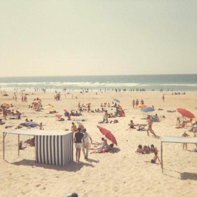 """Sun-Soaked"" California Beach Vintage Photo Print For Sale"