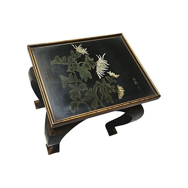 Lacquered Side Table - Image 6 of 8