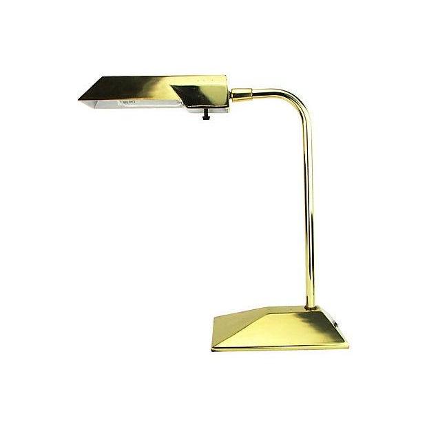 Stiffel Brass Executive Desk Lamp - Image 2 of 5