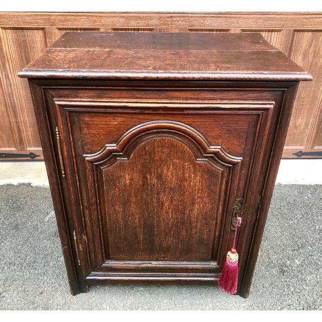 18th Century Georgian Oak Cabinet For Sale - Image 13 of 13