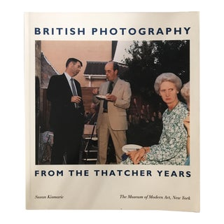 "1990 ""British Photography From the Thatcher Years"" Photography Book For Sale"