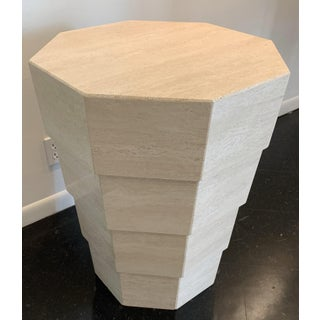 Italian Travertine Octagonal Table Preview