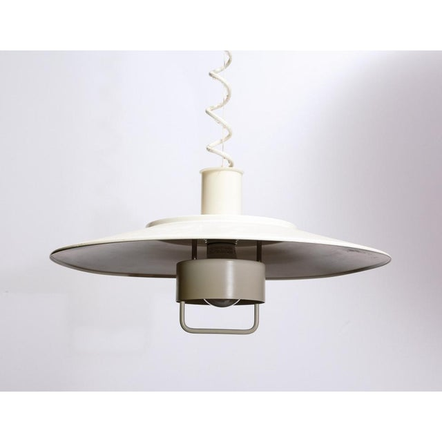 1970s Adjustable Hanging Lamp by Lyfa For Sale - Image 5 of 5