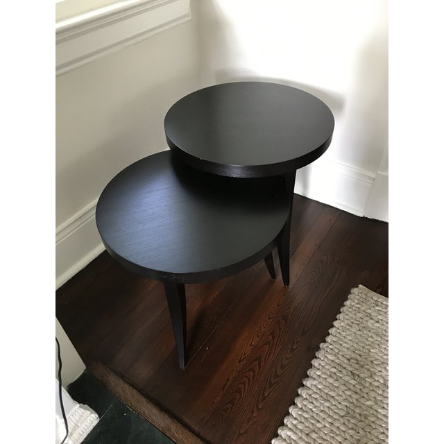 Transitional Transitional Tommy Pedestal Nesting Tables - a Pair For Sale - Image 3 of 9
