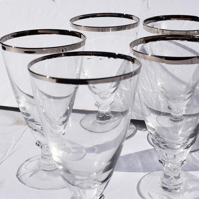 Set of 8 delicate stemware set. The glasses in this set could be used for a number of cocktails. We love the idea of an...