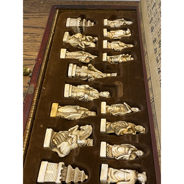 Antique Asian Chess Game For Sale In Chicago - Image 6 of 9