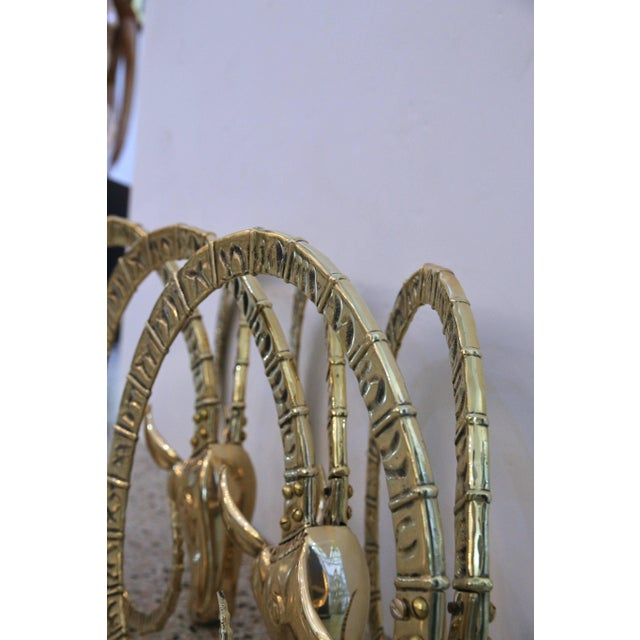 Brass Ibex Figures for Table Base - Set of 3 For Sale - Image 10 of 12