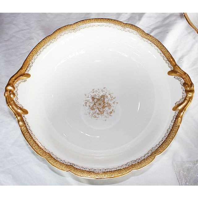 Napoleon III Limoges Serving Bowls - A Pair For Sale - Image 3 of 8