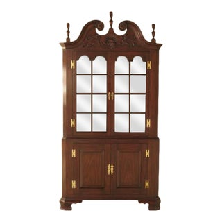 Henkel Harris Welford Corner Cabinet For Sale