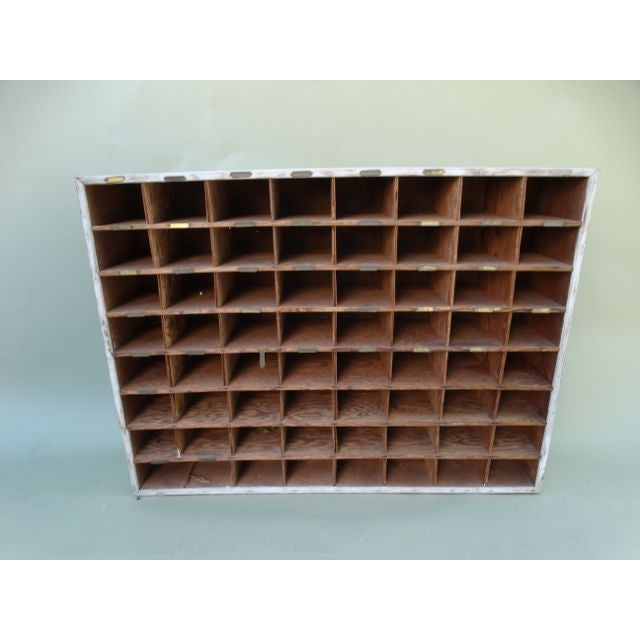 Vintage Hotel Mail Sorter/Wine Cubby - Image 2 of 5