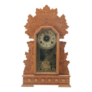 "Antique WM. L. Gilbert Clock Co. ""Concord"" Mantel Clock"