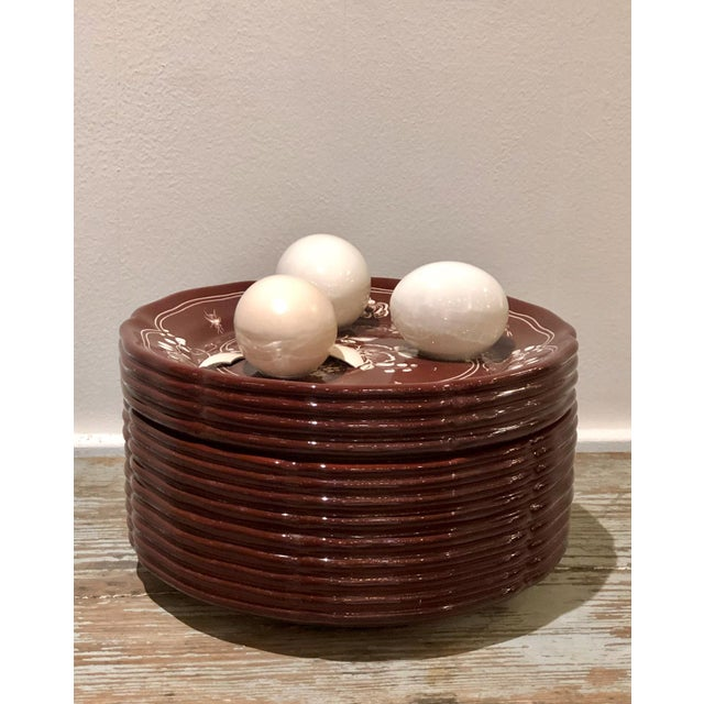 Trompe l'Oeil Egg Container For Sale In San Francisco - Image 6 of 8