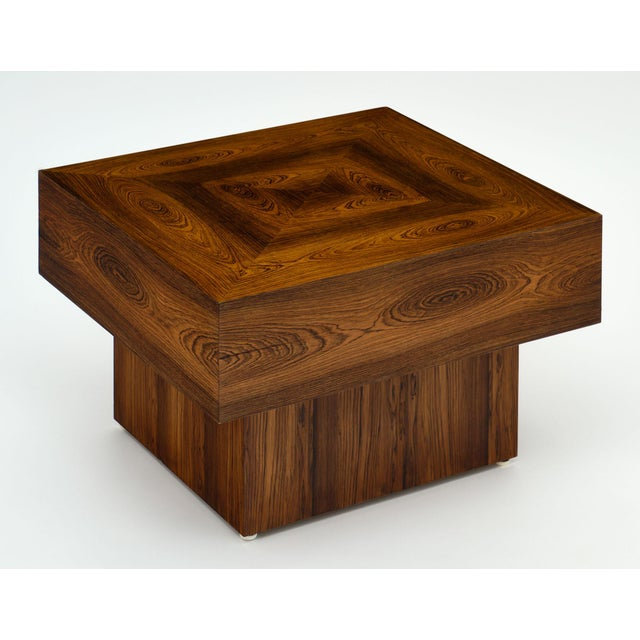 Cubism Cubist French Wood Side Table For Sale - Image 3 of 11