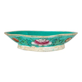 Vintage Chinoiserie Soap Dish For Sale
