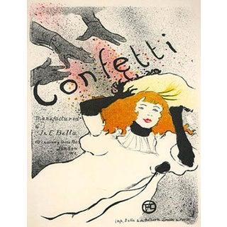 1966 Mourlot Toulouse Lautrec Confetti Lithograph 14 For Sale