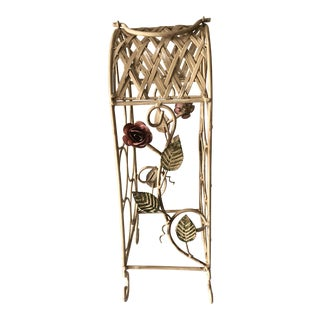 1960s Vintage Italian Florentine Wine Rack For Sale