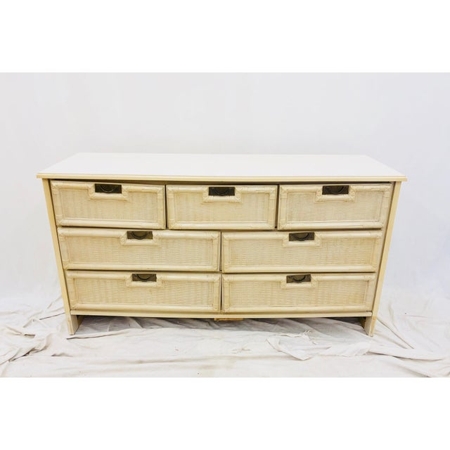 Mid 20th Century Vintage Hollywood Regency Style Dresser For Sale - Image 5 of 10