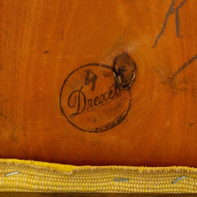John Van Koert for Drexel Profile Mid Century Walnut Dining Chairs - Set of 4 For Sale - Image 12 of 13
