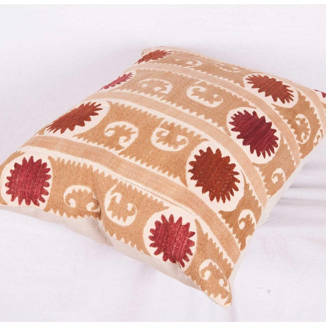 2010s Vintage Tribal Band Turkish Accent Pillow Cover For Sale - Image 5 of 6