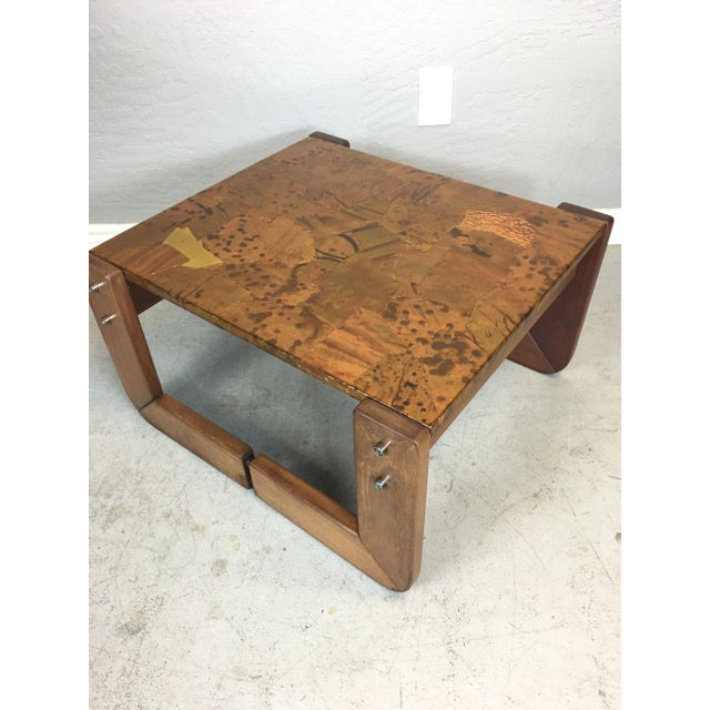 Percival Lafer Rosewood Side Table - Image 3 of 8