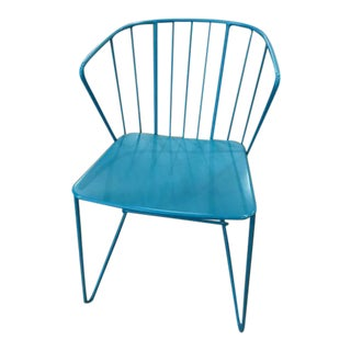 ABC Carpet Home Blue Metal Chair