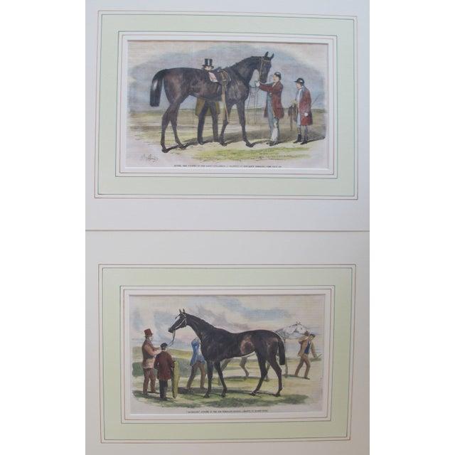 1860s Original British Equestrian Prints - Pair - Image 1 of 4