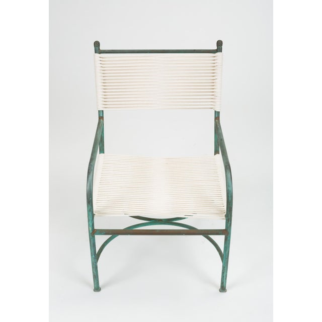Robert Lewis Robert Lewis Bronze Patio Lounge Chair For Sale - Image 4 of 13