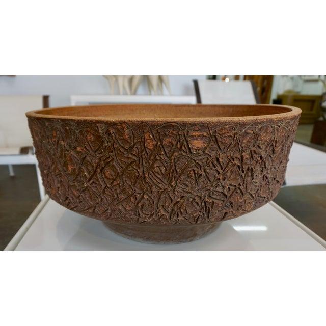 Ceramic Ceramic Planter by Raul Coronel For Sale - Image 7 of 7