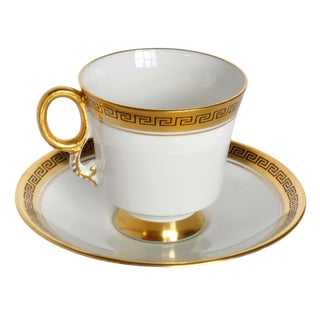 Antique Adderley Teacup With Saucer