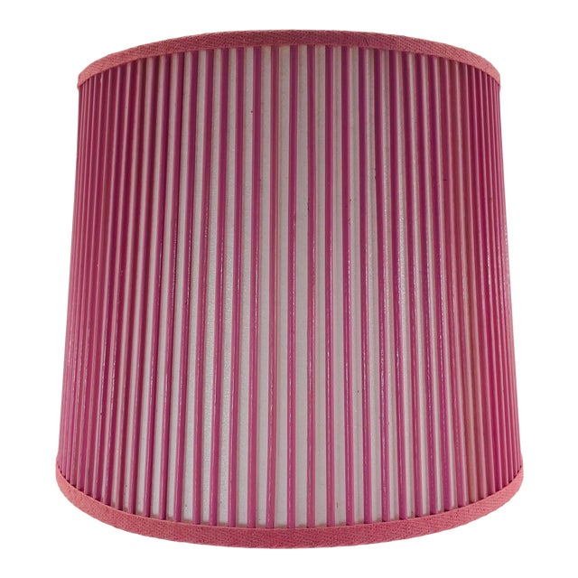 """Retro Drum Stick Shade in Solid Pink, 12"""" For Sale"""