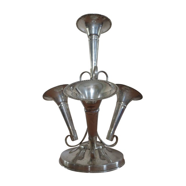 Plated Silver Épergne - Image 1 of 8