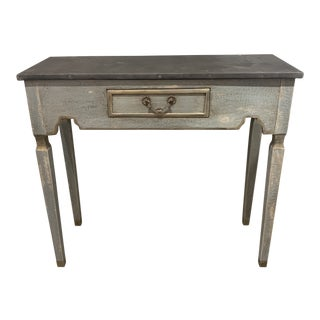 Shabby Chic Single Drawer Console For Sale