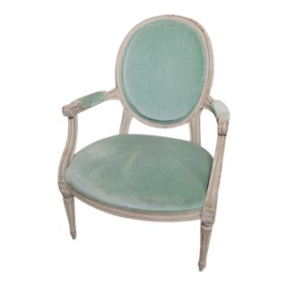 French Provincial Armchair For Sale
