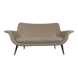 Mid-Century Modern Loveseat For Sale