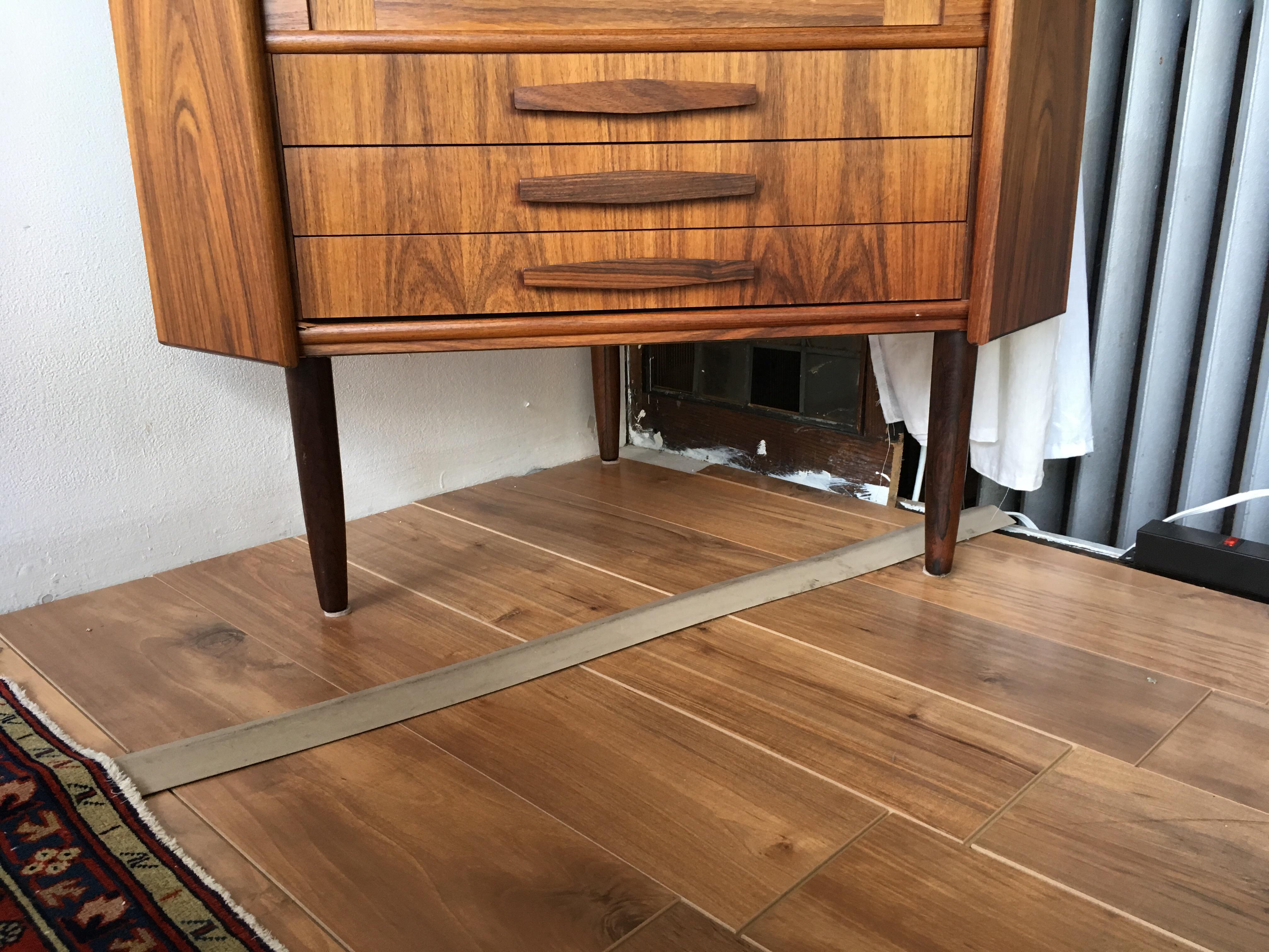 Beautiful Corner Cabinet In Teak, Unmarked Danish Design But Itu0027s Too  Lovely To Matter Too