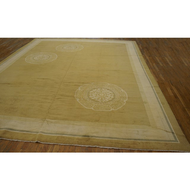 Art Deco Antique Chinese Art Deco Rug For Sale - Image 3 of 12