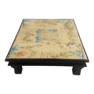 Late 20th Century Wooden Butlers Table For Sale