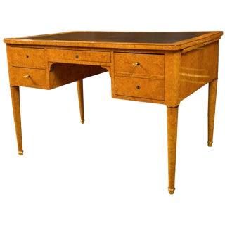 English Traditional Charles X Bureau Plat For Sale