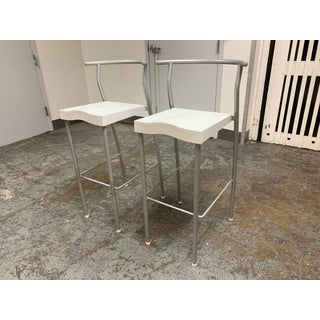 Kartell Philippe Starck Hi-Glob Barstools- a Pair Preview