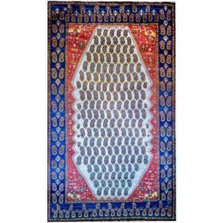 Early 20th Century Khamseh Rug For Sale