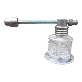 1940s Vintage Glass Medicinal Sprayer Atomizer For Sale