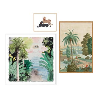 Panorama Gallery Wall, Set of 3 For Sale