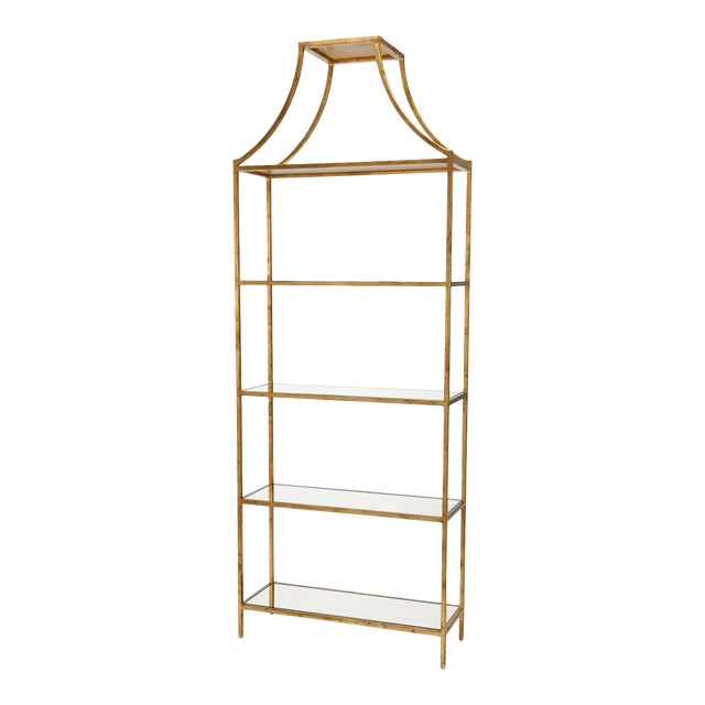 Chelsea House Inc Gilt Shelf For Sale