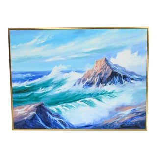 Waterscape Oil Painting For Sale