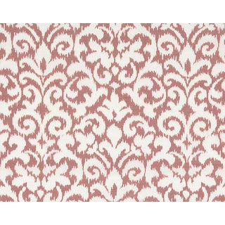 Hinson for the House of Scalamandre Swirl Fabric in Red For Sale